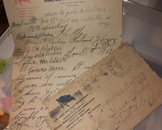 1900 letter from soldier