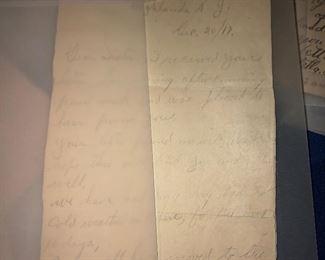 1917 letter