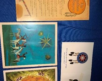 American Indian promotional items.
