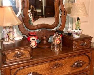 antique 19century dresser
