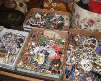 boxes of jewelry