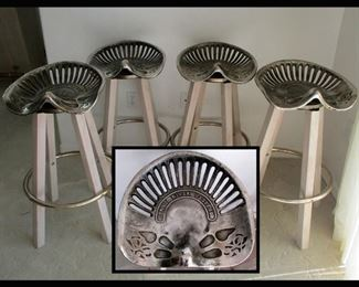 Kings River Casting Tractor Seat Bar Stools