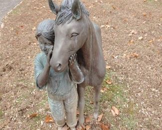 Bronze Yard Sculpture