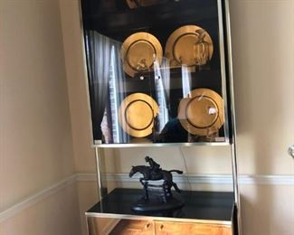 Pair of Mid Century Display cases  ( RIKKI made in Italy)