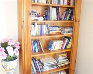7' Pine book case