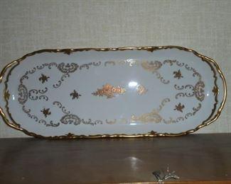 GDR fine chine platter