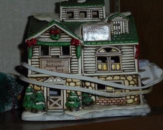 lit Lefton Antique Quilt Store 1987
