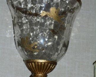 Cherub motif gold bowl
