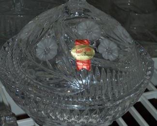 Vintage glass 24% leaded crystal - Anna Hutte - Bleikristall