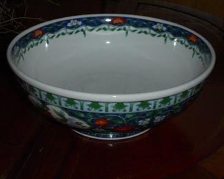 Blue fruit bowl - Andrea by Sudek