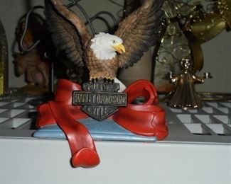 Harley Davidson stocking hanger NIB