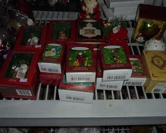 Hallmark Keepsake tree ornaments