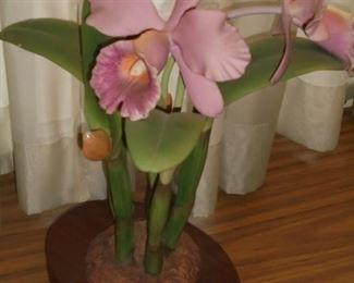 Iris bisque figurine