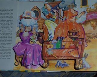 Cinderella pop up book