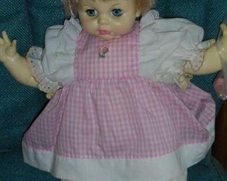 Ideal Toys 1966 doll w/closing eyes