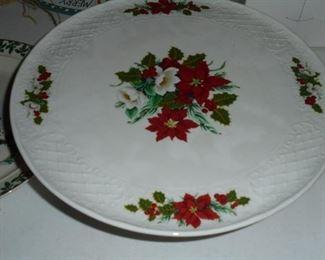 Holiday cake pedestal 'Holiday Bouquet' Bavaria - Schumann Arzberg - Germany