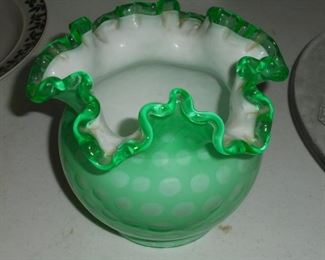 Green Finton style bowl