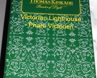 NIB Thomas Kinkade 'Victorian Lighthouse'