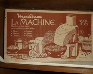 Moulinex La Machine in box