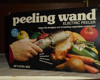 G.E. peeling wand electric peeler in box