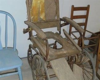 Primitive Wheel chair