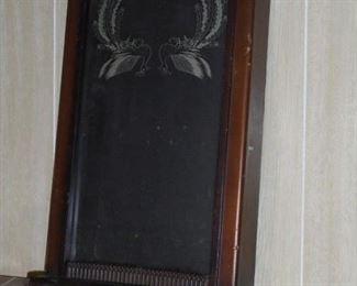 Wood clock case