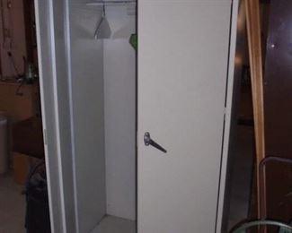 7' tall metal storage cabinet