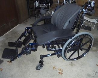 Solara 3 G Wheel chair - w/all the accessories - cadillac of wheel chairs - lays all the way back