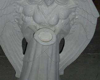 2' tall white angel