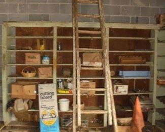 18' wood extension ladder