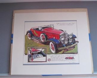 Ken Dallison art  - 13 pictures total with original mailer
