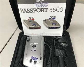 Passport 8500 Escort Radar Detector