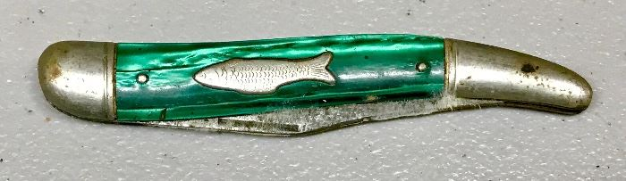 Vintage Imperial Fish Pocket Knife