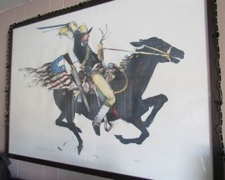 Sharpshooter/Rough Rider by Doyle - signed and numbered. Very cool!