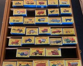 Vintage Matchbox Series Collection
