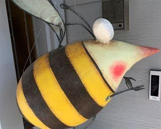 Patience Brewster Krinkles Funky Bee Wearing Red High Heels lol