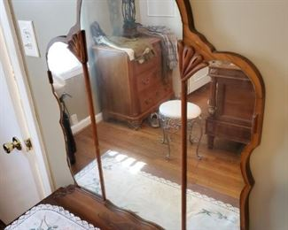 """Antique Vanity - 40"""" wide x 18"""" deep and 67"""" tall"""