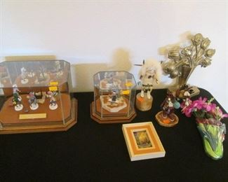 Miniature Kachinas in Case by Gil Maldonado
