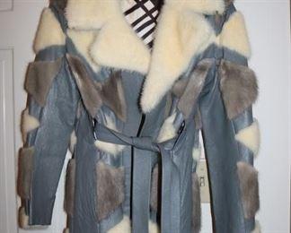 Vintage 70's Rabbit Fur Coat