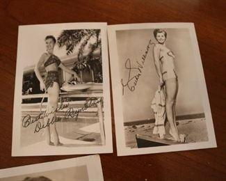 1950S VINTAGE DEBBIE REYNOLDS  SIGNED PHOTO
