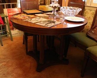 1950s Vintage Lenoir Chair Company Dining Set