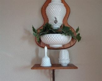 milk glass, we have lots
