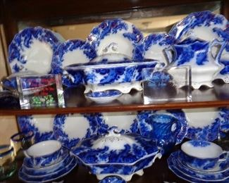 much flow blue in this sale