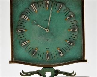 Five LeCoultre Clocks
