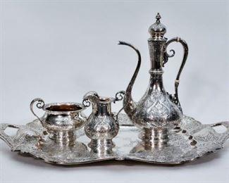 Gorham Turkish Style Tea Set