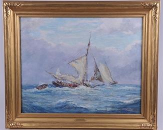 Reynolds Beal Painting