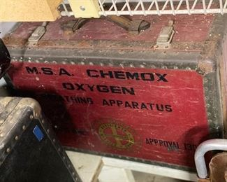 Vintage MSA Chemox Oxygen Breathing Apparatus