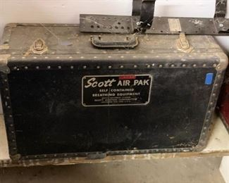Vintage Scott AIR PAK self contained Breathing Equipment