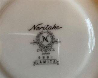 Noritake LAMITA pattern china
