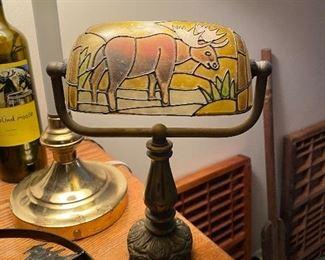 moose bankers lamp